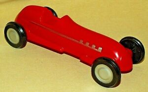 RUBBER BAND RACER RED CAR RACE PLASTIC 10110WF 2007 SCHYLLING RUBBERBAND TOY.