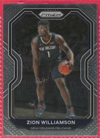 2020-21 Panini Prizm Zion Williamson Base card #185 New Orleans Pelicans