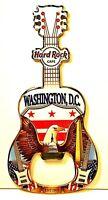 Hard Rock Cafe Washington D.C. Eagle Guitar Bottle Opener Magnet NEW