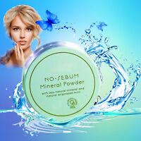 innisfree No Sebum Mineral Powder 5g Makeup Face Shine Control + Puff w/ Ribbon
