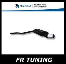FIAT 600 1.1 Sporting MARMITTA TERMINALE DI SCARICO SPORTIVO TA TECHNIX 76mm