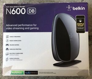 Belkin N600 300 Mbps Gigabit Wireless dual-band Router