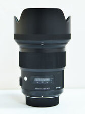 Sigma Art 50mm F/1.4 HSM DG Lens For Nikon