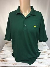 The Masters Club House Collection Polo Shirt Size XL Green Authentic Ply Cotton