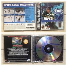 NHL Championship 2000 (PlayStation PS1) COMPLETE CIB Tested