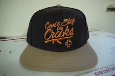 Can't Stop the Crooks AK47 Snapback Cap- Brown/Beige Brand New with Tags