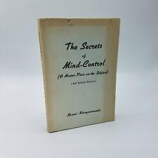 The Secrets of Mind Control by SWAMI NARAYANANDA ~ 1959 ~ Yoga Hindu Philosophy