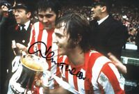 Signed Dennis Tueart Sunderland 1973 FA Cup Final Autograph Photo + Proof