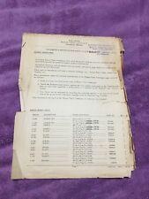 Holden Amendment Bulletin Manual Book May 1956 FJ