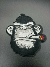 parche mono vicious Patch ropa bordado calor macarra animal gorila gorilla