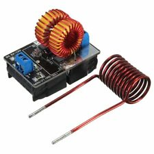 Pro 5V-12V Low Voltage ZVS Induction Heating Power Supply Module +Heater Coil PQ