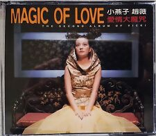 Vicki Zhao Wei CD Magic of Love and 1 VCD (Video Compact Disc) 1999