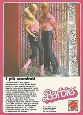 X0617 Barbie Moda Jeans - Mattel - Pubblicità del 1983 - Vintage advertising