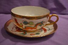 Dragon Design Tea Cup & Saucer Set (China)