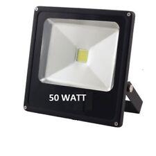 FARO LED 50 watt per esterno SLIM LUCE FREDDA CALDA INTERNO MOLTO LUMINOSO