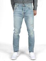 Nudie Herren Regular Fit Stretch Jeans - Brute Knut Pale Surface - W25 - W27 L28