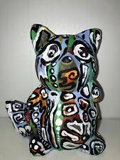Margarita Bonke Malerei PAINTING Art Objekt Skulptur Deko Figur katze cat kunst