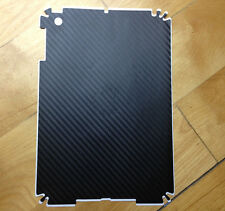 4 X Black Back Cover Carbon Fibre Skin Sticker Wrap for iPad Mini
