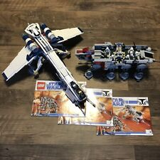 Complete Lego Set 10195 Star Wars Republic Dropship W/ AT-OT Clone Pilot Trooper
