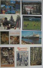 Minnesota Postcard Lot of 9 Blackduck Como Zoo Giants Ridge Duluth Minneapolis
