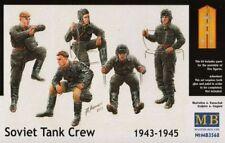 Master Box 1/35 Soviético Tanque Crew 1943-1945 # 3568