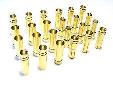 20 Paar 40 Stück 5mm Hochstrom 120A Original Goldstecker Stecker Buchse 5.0mm