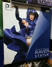DC Cover Girls of the DC Universe Raven Statue DC Collectibles. Nuova/New