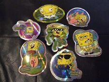 SpongeBob Vending Machine Stickers Lot of 7 New