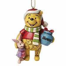 Disney Traditions Winnie The Pooh & Piglet Christmas Tree Hanging Ornament Xmas