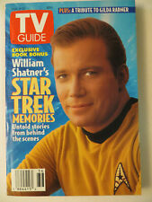 New ListingStar Trek Tos Tv Guide - Captain Kirk ! - 1993