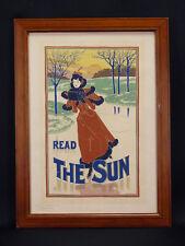 Louis John RHEAD (1857-1926) Read the Sun Imprimerie Chaix Maitres de l'Affiche