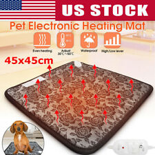 Waterproof Electric Heating Pad Heater Warmer Mat Bed Blanket for Pet Dog Cat US