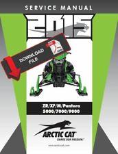 Arctic Cat 2015 ZR 9000 El Tigre Service Manual