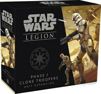 Phase I Clone Troopers Unit Expansion Star Wars Legion Clone Wars FFG