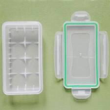 4 pcs Waterproof Battery Storage Case Holder Organizer for 18650/16340 Batteries