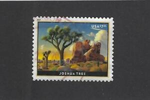 US Sc# 5347 $7.35 JOSHUA TREE PRIORITY MAIL STAMP USED OFF PAPER SOUND