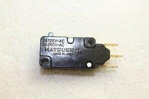 Matsushita Electronics GV Miniature Switch - 5A 125V-AC / 3A 250V-AC - AH44009