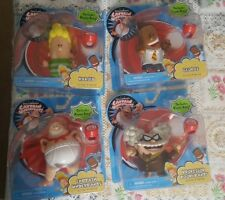 Captain Underpants Movie 4 Figures Harold George Professor Poopypants Hypno Ring