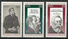 Germany (East) 1970 MNH 150th Birthday Friedrich Engels Marx Communist Manifesto
