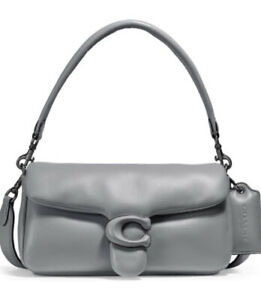 ❤️ Coach Pillow Tabby Pewter/Granite C0772 Shoulder Bag 26