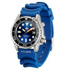 Phoibos Men's PX005B 1000M Dive Watch Swiss Quartz Blue Sport Watch