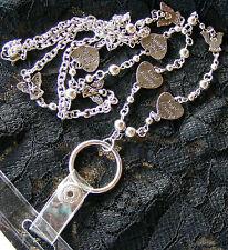 "Heart  Angel 37"" Long Name Tag ID Badge Key Eyeglass Holder Necklace Lanyard NEW"