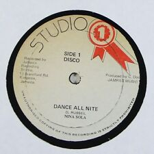 "Nina Sola/Doreen Shaffer ""Dance All Nite/Heartbreaker"" Reggae 12"" Studio One mp3"