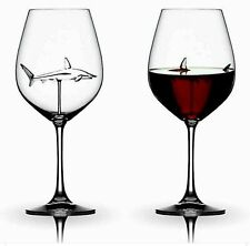 Home The Original Shark Red Wine Glass-Handmade Crystal For Party Flutes Glass