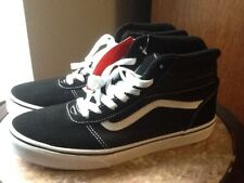 Vans New Youth Or Womens High Top Casual Sneaker Size 7.0