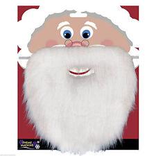 Christmas Santa White Fake Beard Unisex Fancy Dress Xmas Party Accessory