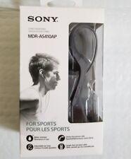 Sony MDR-AS410AP In Ear Headphones MDR AS410AP Sport Earbuds Water Resistant