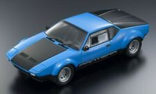 DE TOMASO PANTERA GT4 BLUE & BLACK 1:18 DIECAST MODEL CAR BY KYOSHO 08853 BL