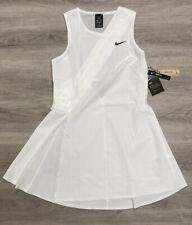 Nike Dri FIT Maria Sharapova London Court Tennis Dress Medium White CK7996-100