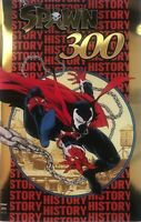 SPAWN #300 NYCC GOLD FOIL HOMAGE VARIANT COVER, LTD TO 500, NM